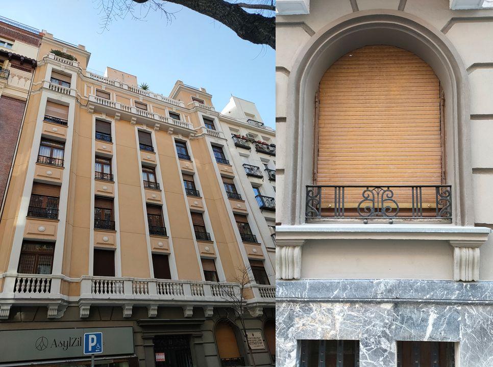 Madrid Art Decó Zigzag Moderne en Alonso Cano