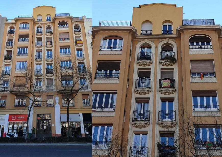 Madrid Art Decó Zigzag Moderne en la plaza de Chamberí