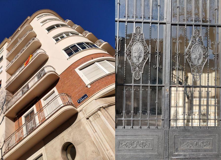 Madrid Art Decó aerodinámico en el paseo de Eduardo Dato