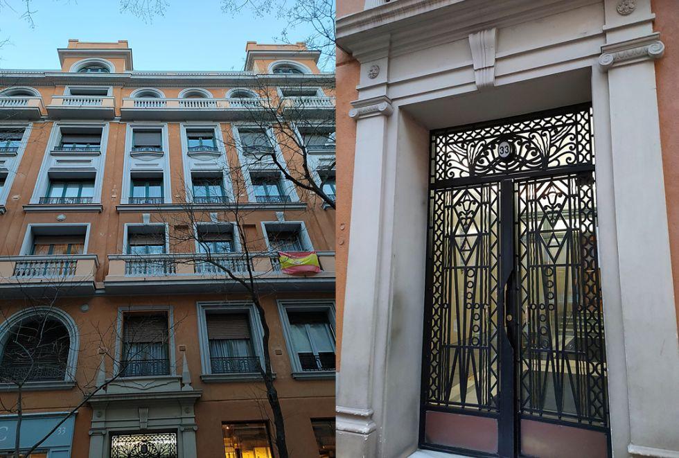 Madrid Art Decó en Fernández de la Hoz 33