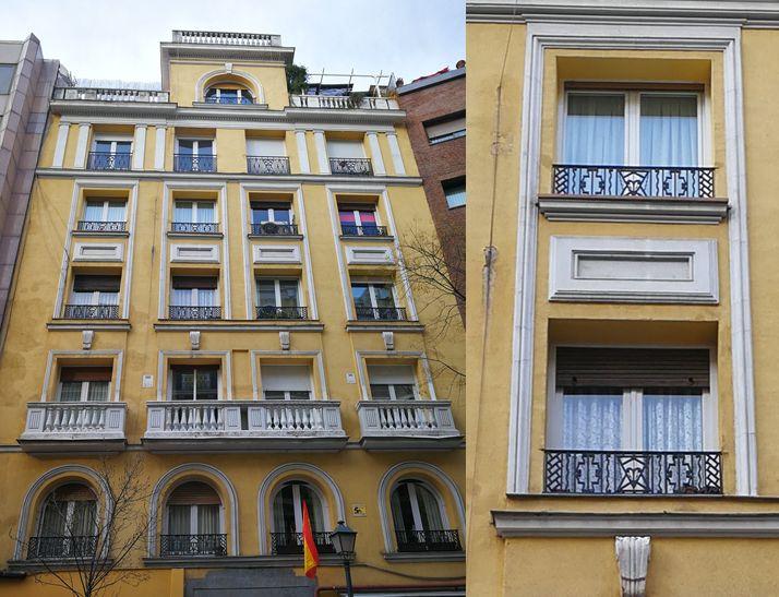 Madrid Art Decó en calle Zurbano 47