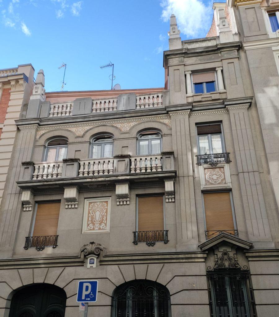 Madrid Art Decó en la calle Españoleto