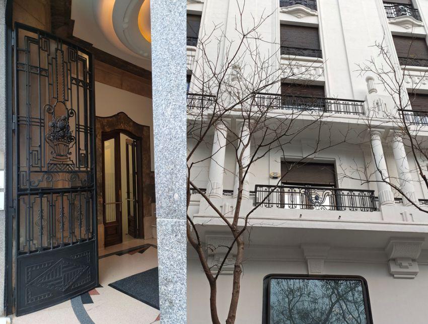 Madrid Art Decó en la calle Génova con Zurbano