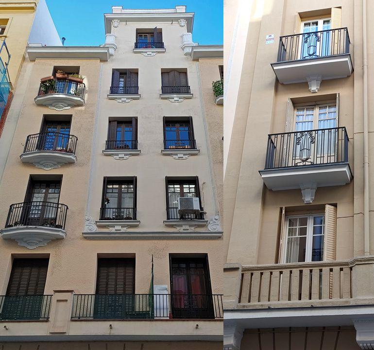 Madrid Art Decó en los números 14 y 12 de la calle Españoleto