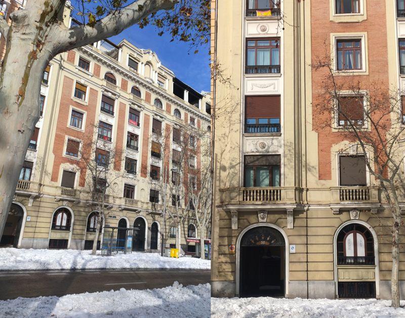 Madrid Art Decó opulento en Martínez Campos 51 y 53