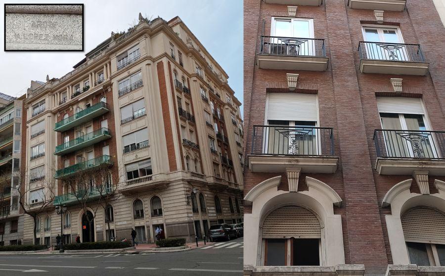 Manuel López Mora y su edificio del Madrid Art Decó en Eduardo Dato