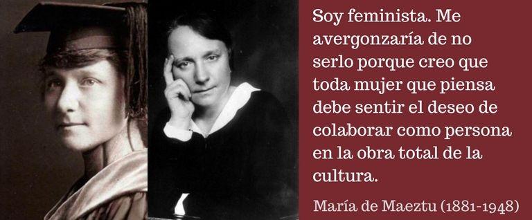 María de Maeztu y el feminismo en España