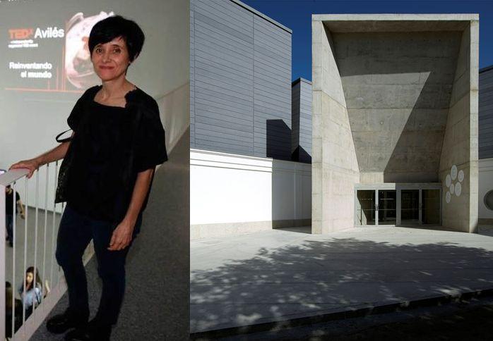 Matilde Peralta, arquitecta del Teatro Del Mercado en Navalmoral de la Mata