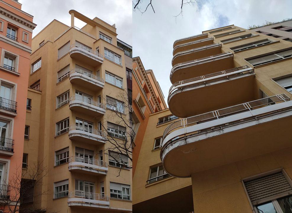 Monumental Streamline Moderne en Madrid