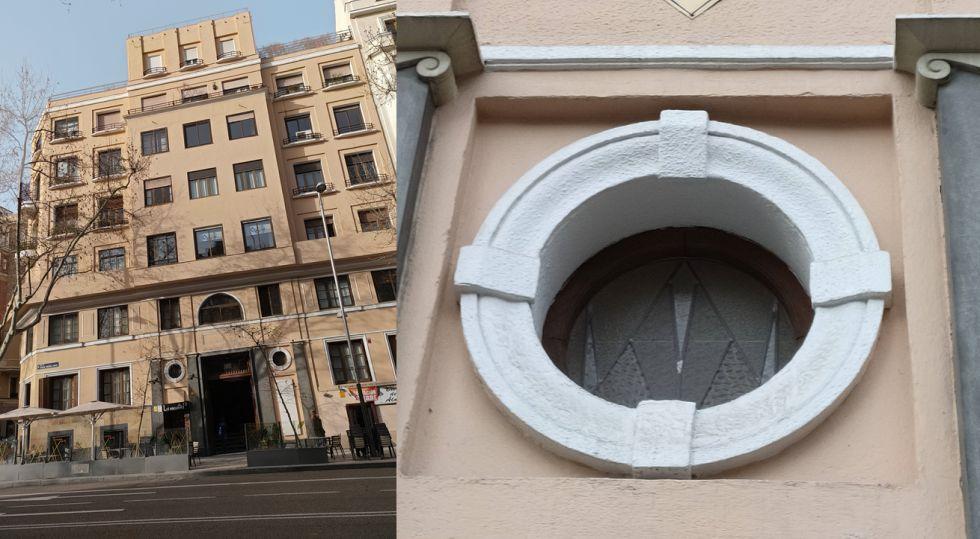 Ojo de buey, triángulos y volúmenes en la arquitectura Art Decó