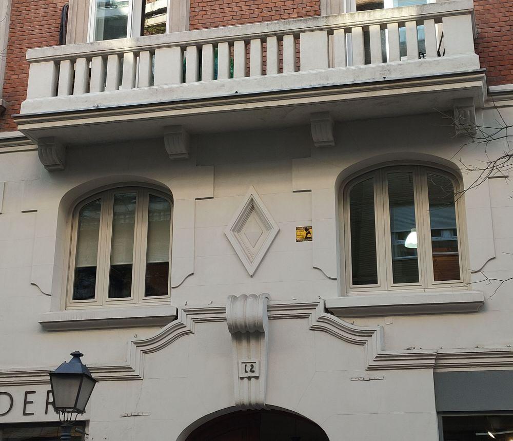 Portada y rombo de General Arrando 12 es Madrid Art Decó