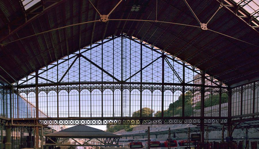 Primeras estaciones de tren en Madrid