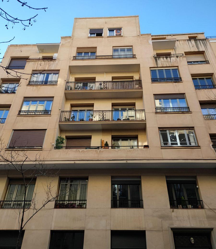 Racionalismo Decó en la calle Viriato 62 de Madrid
