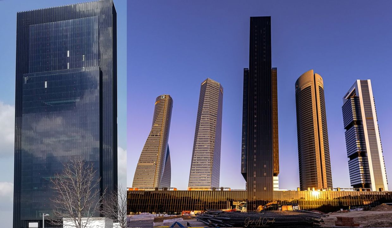Rascacielos Torre Caleido de Madrid