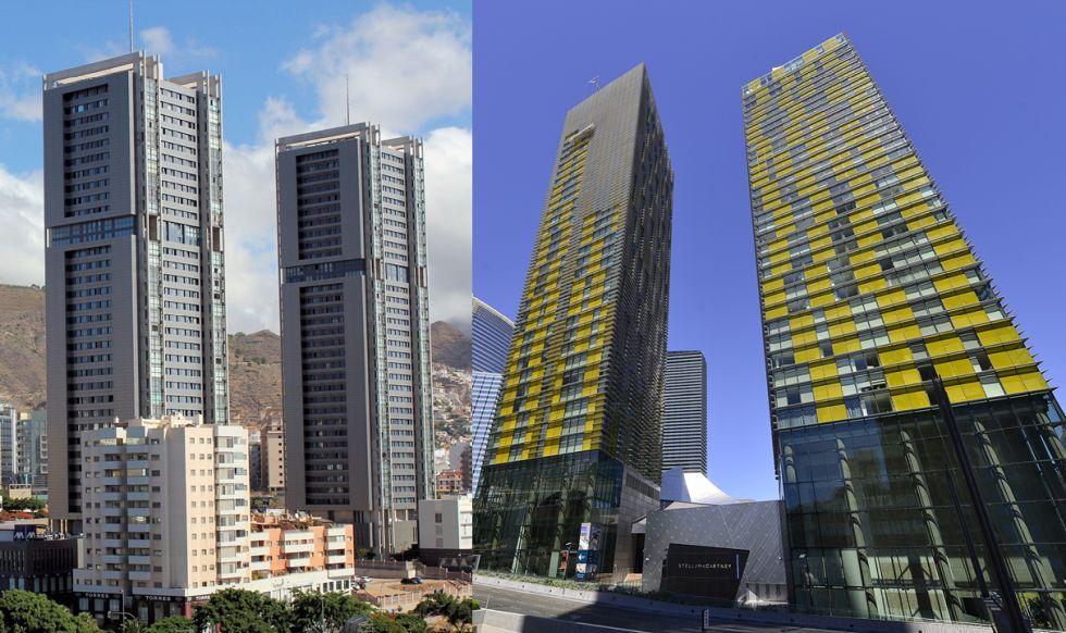 Rascacielos gemelos en el mundo