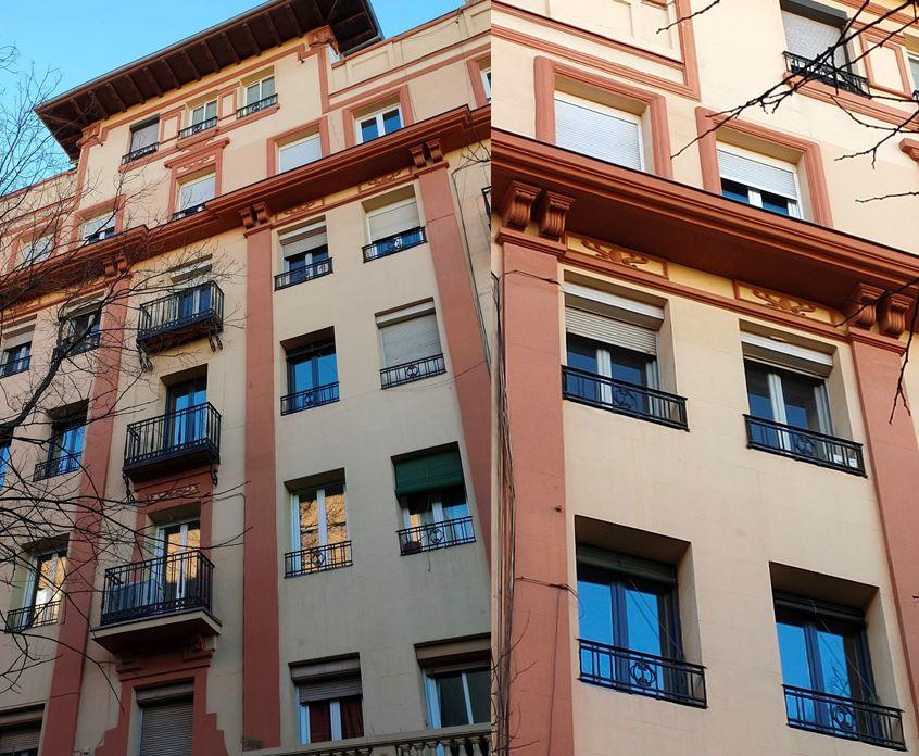 Regionalismo Decó en la calle García de Paredes