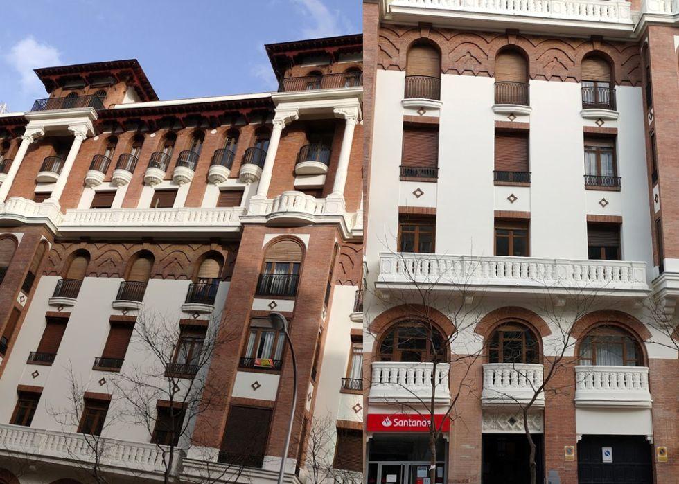 Regionalismo Decó en la calle Miguel Ángel
