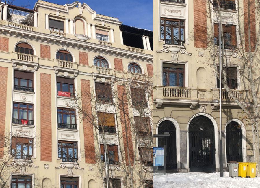 Riqueza ornamental del Madrid Art Decó Zigzag Moderne