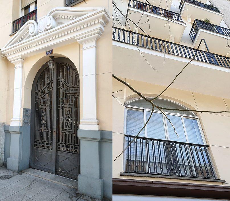 Santa Engracia 36 pertenece al Madrid Art Decó