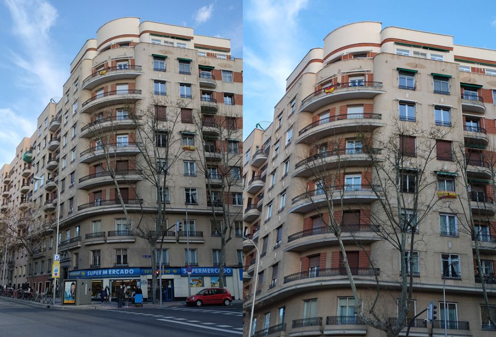Streamline Moderne del Madrid Art Decó en la avenida Reina Victoria