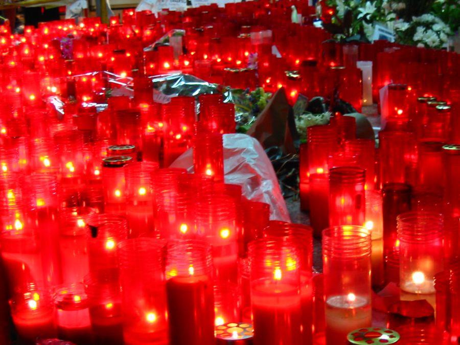 Velas en Atocha por los atentados del 11M