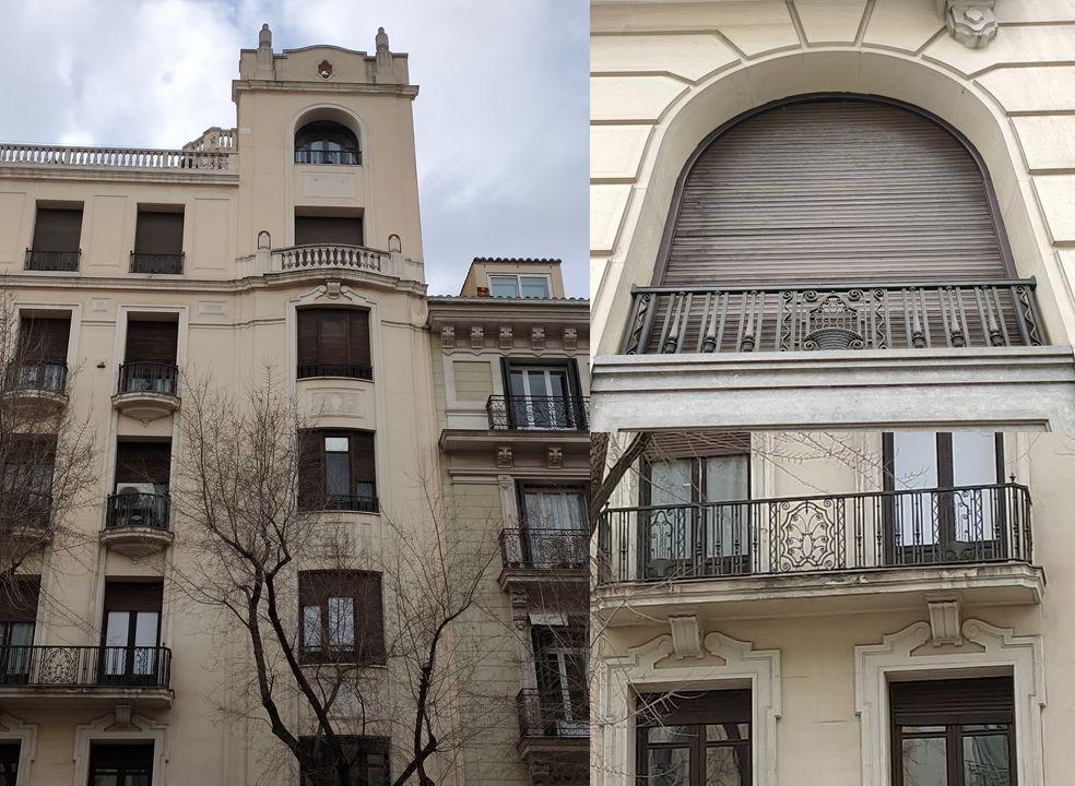 Viviendas para Don Juan José Istueta es Madrid Art Decó