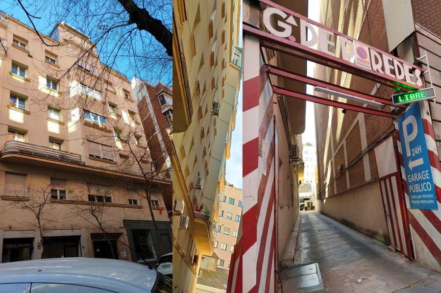 Viviendas y Garaje de García de Paredes en Madrid