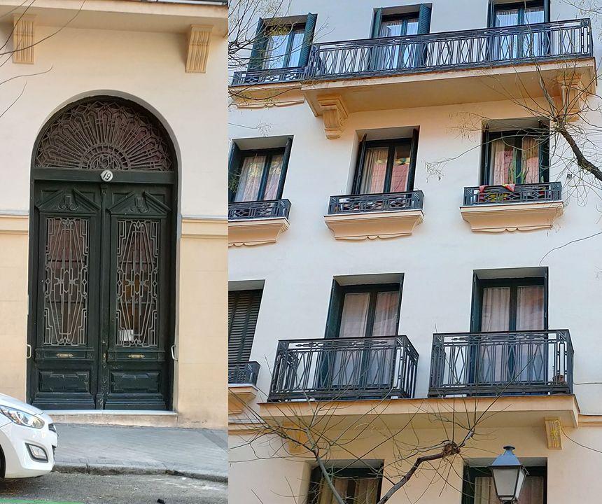Zurbarán 19 es Madrid Art Decó