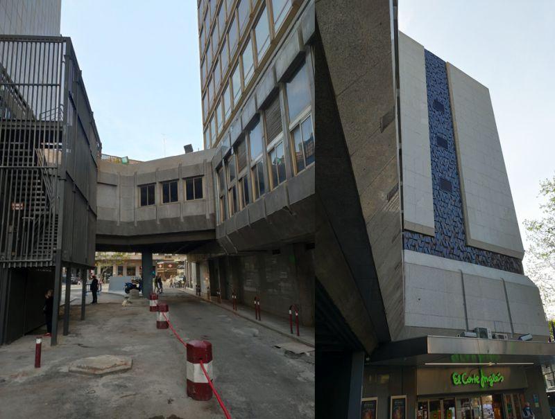 Arquitectura brutalista y C Tangana
