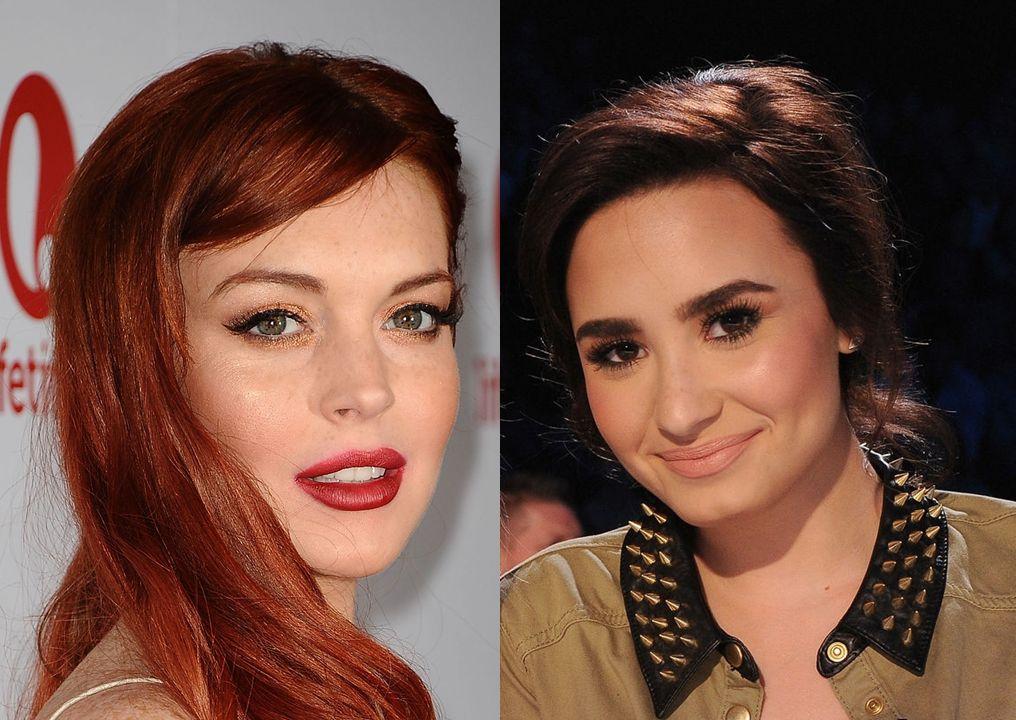 Demi Lovato defiende a Lindsay Lohan