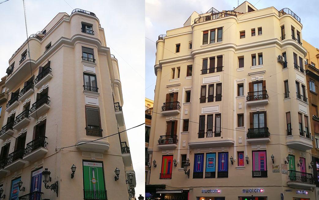 Edificios de Madrid en Maldito con C Tangana