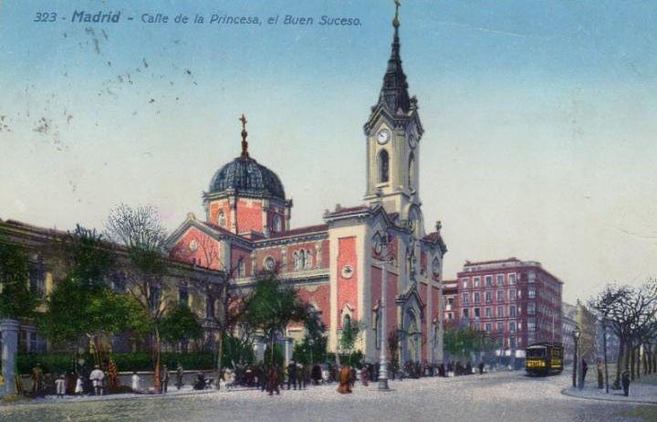 Edificios de Madrid que han desaparecido, la Iglesia del Buen Suceso en Argüelles