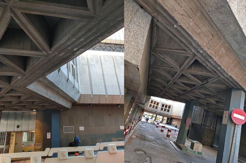 Edificios de Madrid que pertenecen al Brutalismo
