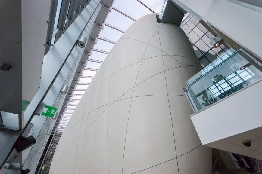Huevo del Centro Darwin de Londres
