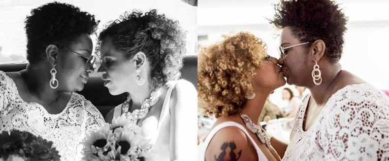 Matrimonio Igualitario de Ellen Oléria en Brasil