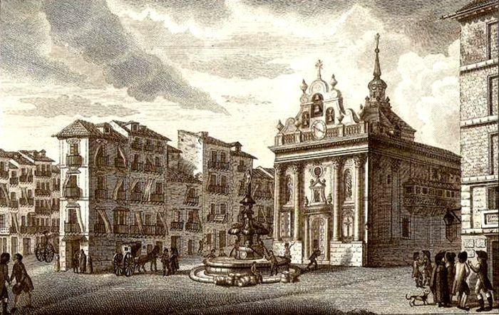 Iglesia del Buen Suceso de Madrid en 1790