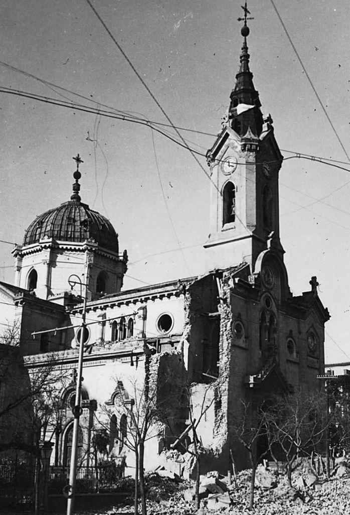 Segunda iglesia del Buen Suceso tras la Guerra Civil