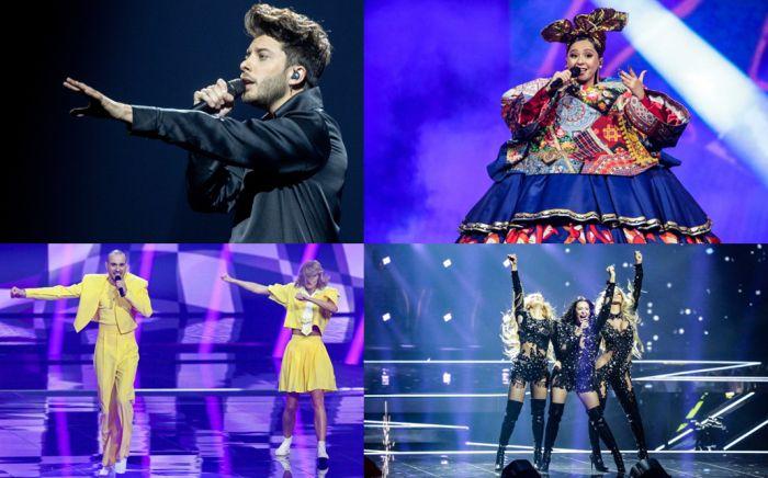 Clasificación final de las canciones de Eurovisión 2021