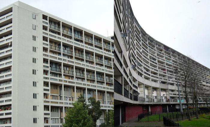 Edificios parecidos a Unité d Habitation de Le Corbusier