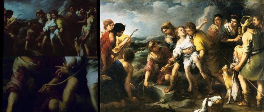 José y sus hermanos por Murillo