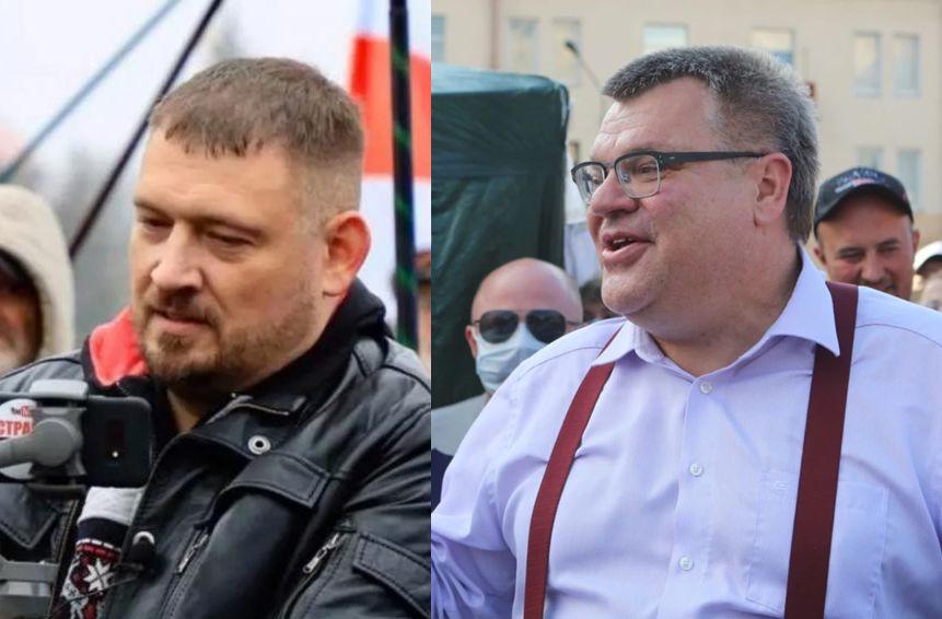 Sergei Tikhanovsky, Viktar Babaryka y las protestas de Bielorrusia