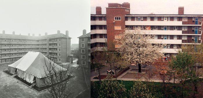 Sumner Estate en el barrio de Peckham de Londres