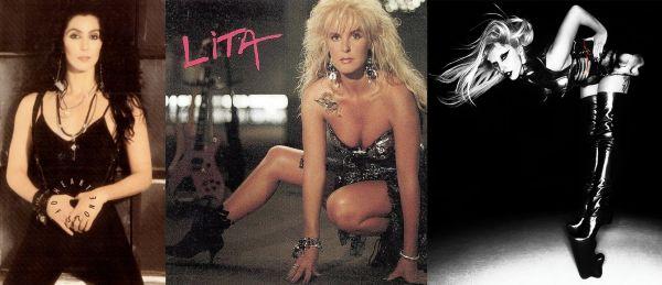 Cher y Lita Ford vibes en Born This Way de Lady Gaga