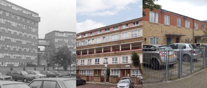Evolución de North Peckham Estate