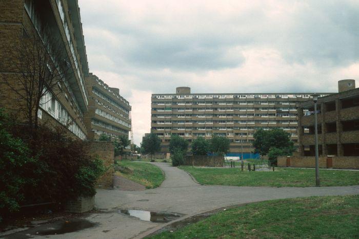 Gloucester Grove Estate en los 80