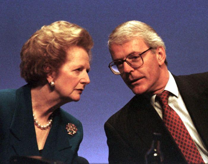 John Major y el neoliberalismo en Reino Unido