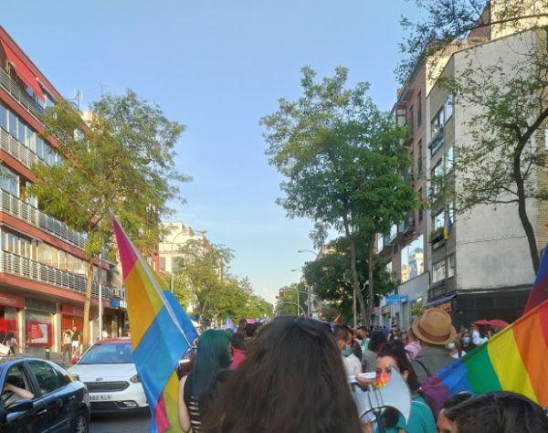 Orgullo LGTBIQA 2021 en Vallecas