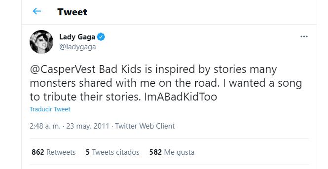 Subtexto queer en Bad Kids de Lady Gaga