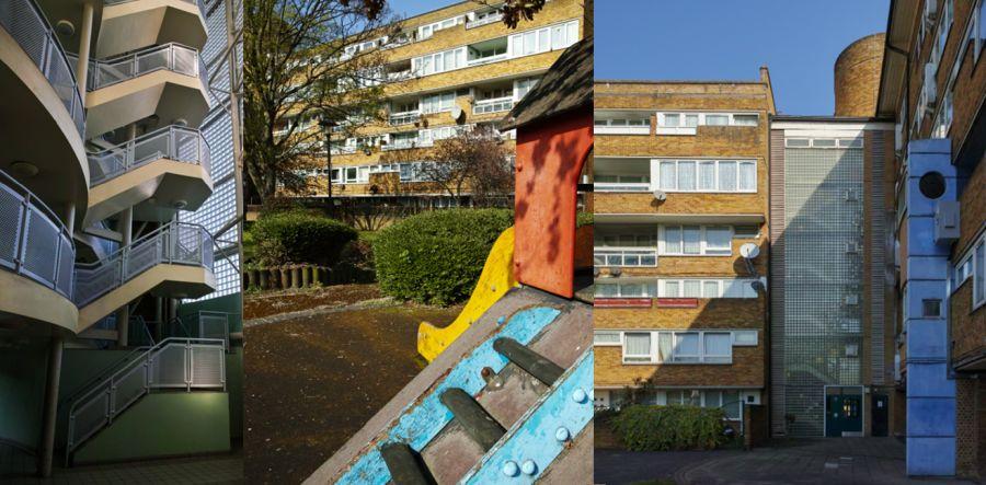 Viviendas sociales del Movimiento Moderno en Londres: Gloucester Grove
