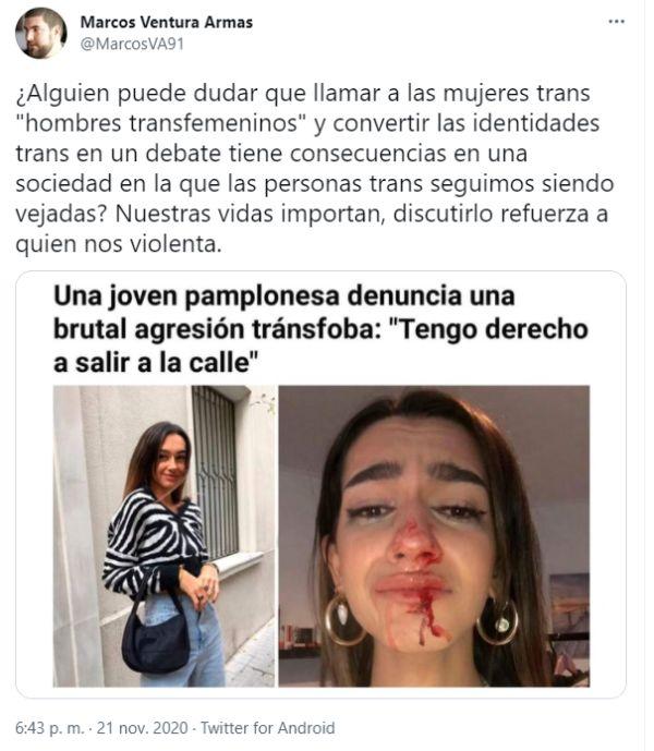 Agresiones tránsfobas en España
